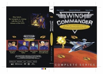 Wing Commander Academy DVD Cover