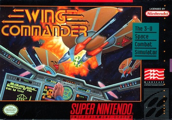 Wing Commander SNES - Cover