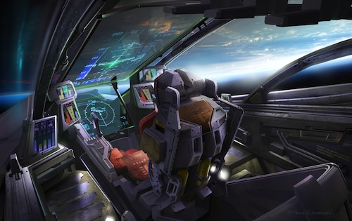 Retaliator Cockpit Artwork